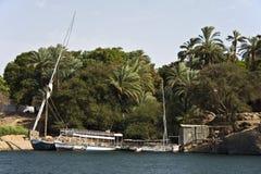 Felucca sur le Nil Photos libres de droits