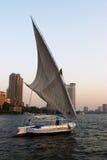 Felukah under sail Stock Photography