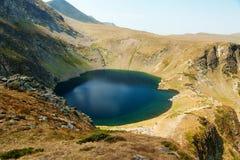 Fem av de sju Rila berg sjöarna Royaltyfria Foton