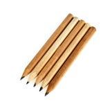 fem blyertspennor Arkivbild