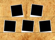 Fem fotoramar arkivbilder