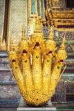 Fem head Naga i Bangkok Royaltyfria Bilder