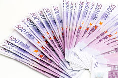 Fem hundratals euro Royaltyfri Fotografi