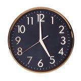 Fem klockan på visartavlan Royaltyfria Foton