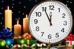 fem midnight minuter till Royaltyfri Foto