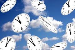 fem minuter s till twelf Royaltyfri Fotografi