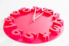 Fem minuter till den midnatta klockan Arkivbild