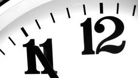 Fem minuter till midnatt - Tid schackningsperiod royaltyfri illustrationer