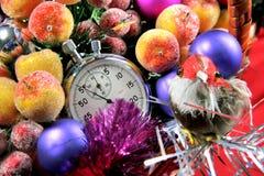 fem nya sekunder till året Royaltyfria Bilder