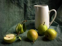 fem pears arkivbilder