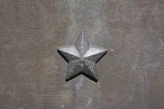 Fem-pekad stjärna av kommunism och socialism arkivfoton
