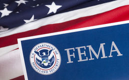 FEMA US Homeland Security Form Stock Photography