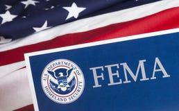 FEMA US Homeland Security Form Stock Photography