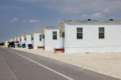 Fema-Wohnwagensiedlung in Joplin, Missouri Lizenzfreie Stockfotos