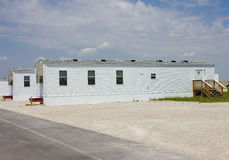 Fema-Wohnwagensiedlung in Joplin, Missouri Stockbild