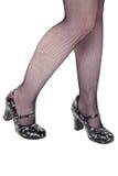 Femal legs Royalty Free Stock Images