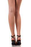 Femal legs Stock Image
