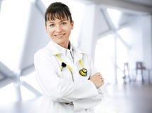 Femal lekarki portret Obrazy Stock