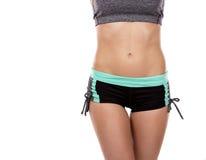 Female abdomen Royalty Free Stock Image