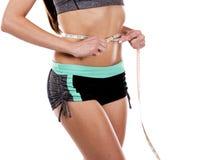 Female abdomen Stock Images