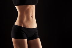 Female abdomen Stock Image