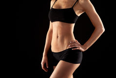 Female abdomen Royalty Free Stock Photo