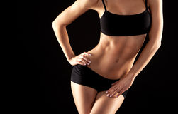 Female abdomen Stock Images