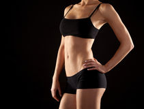 Female abdomen Royalty Free Stock Images