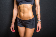Female abs Royalty Free Stock Image