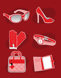 Female Accessories Stock Images