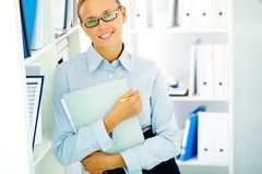 Female accountant Royalty Free Stock Photo