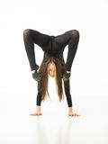 Female acrobat Royalty Free Stock Photos