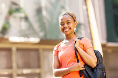Female african student university Stock Photo
