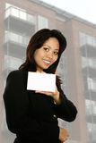 Female agent/businesswoman Royalty Free Stock Photography
