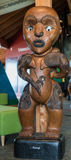 Female ancestor called Erangi of the Waitakere tribe. Stock Photo