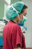 Female anesthesist Stock Photography
