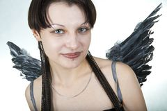 Female angel Royalty Free Stock Photography