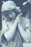 Female angel stock photography