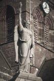 Female angel statue in Kirkland. Orkney. Scotland. UK Stock Image
