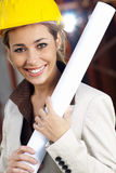 Female architect Royalty Free Stock Images