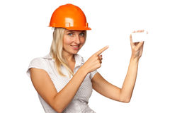 Female architect Stock Image