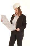 Female architect Royalty Free Stock Photos