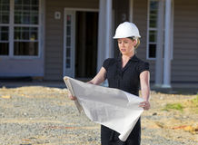 Female Architect Royalty Free Stock Photo