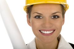Female architect Royalty Free Stock Images