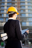 Female architect/construction engineer Stock Photos