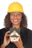 Female architect portrait Stock Photos