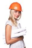 Female architect Royalty Free Stock Photography