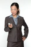 Female asian business executive Stock Photo