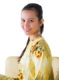 Female Asian Relaxing IV Stock Image