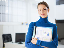 Female assistant Stock Images